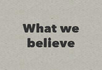 What we believe-01